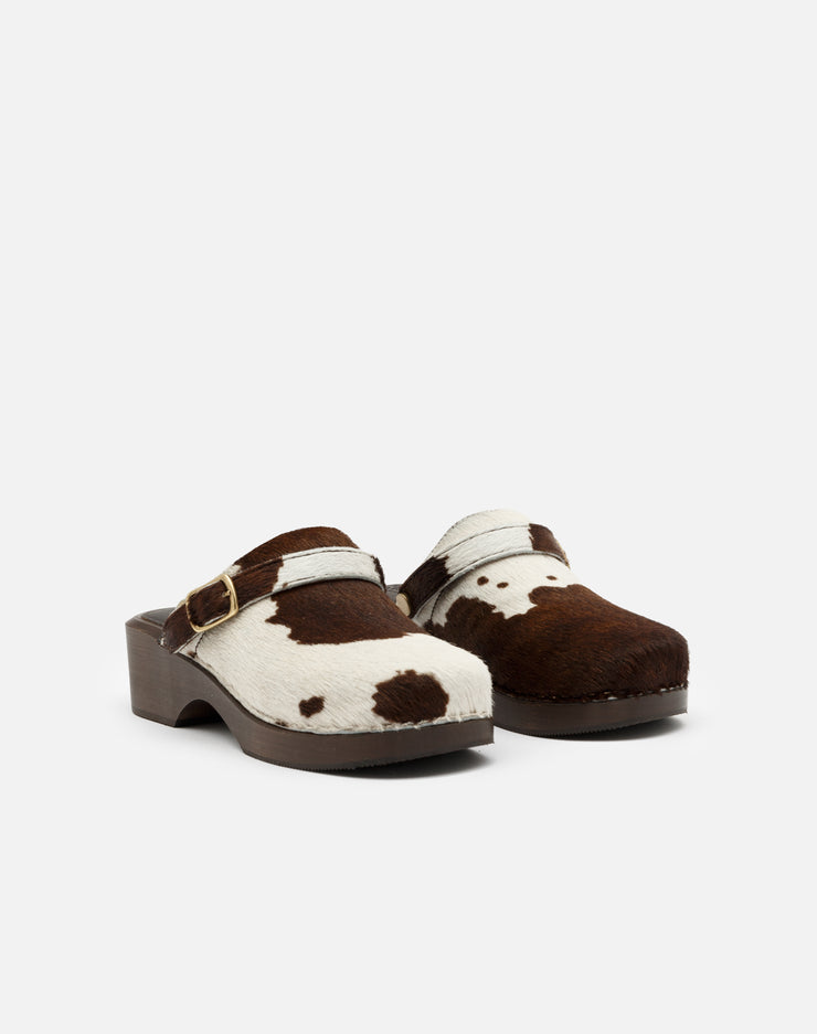 70s Classic Clog - Brown Pony