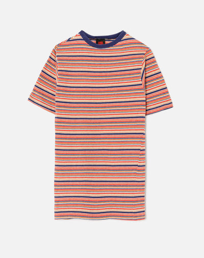 Vintage 1960s/1970s Surfer Stripe Short Sleeve Tee - #6