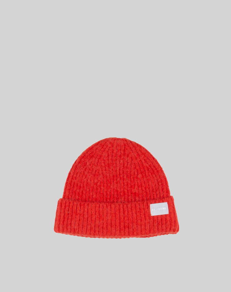 Classic Beanie - Red Orange