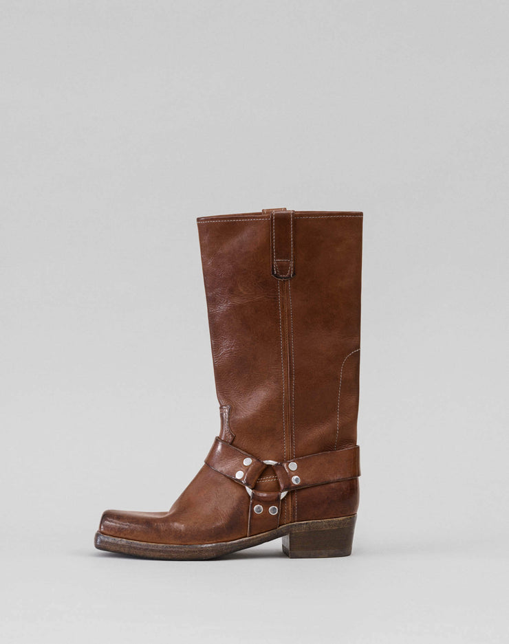 Cavalry Boot - Worn Caramel