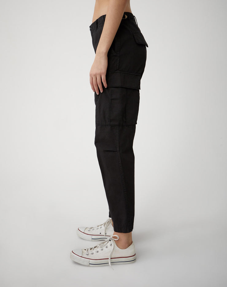 The Cargo Pant - Washed Black