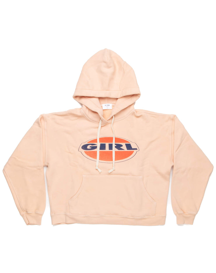 Girl Classic Hoodie | Sunfaded Pink | 012-5WHN1 | 5