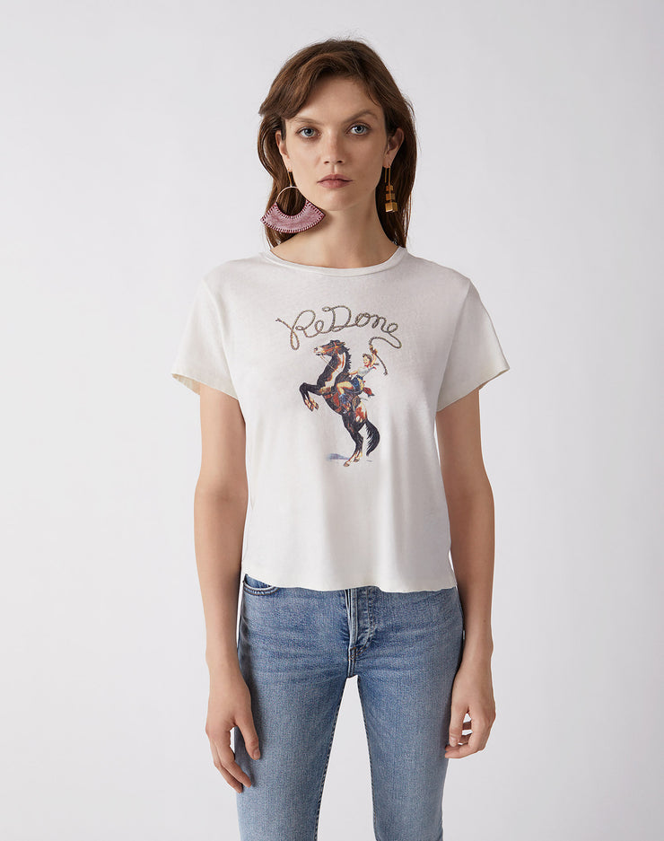 "The Classic Tee ""Cowgirl REDONE"" 