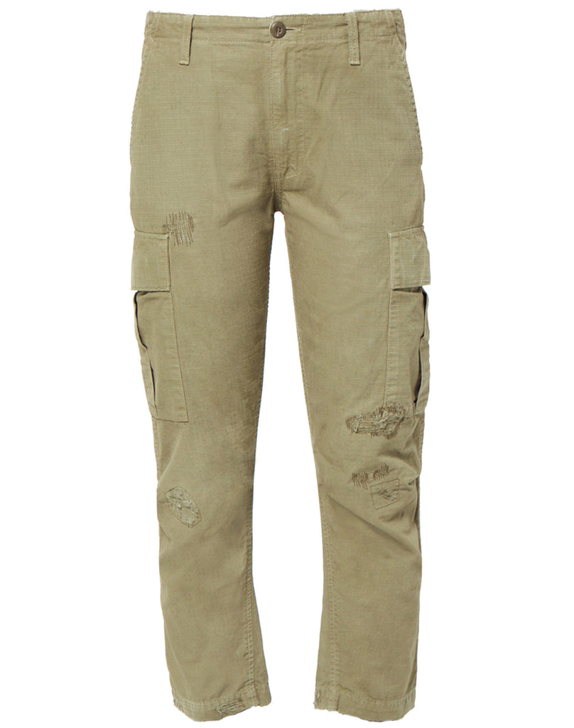 Cargo Pant In Army. Pantalon Cargo Dans L'armée. - Size 25 (also In 24,26) Re/done - La Taille 25 (également À 24,26) Re / Done