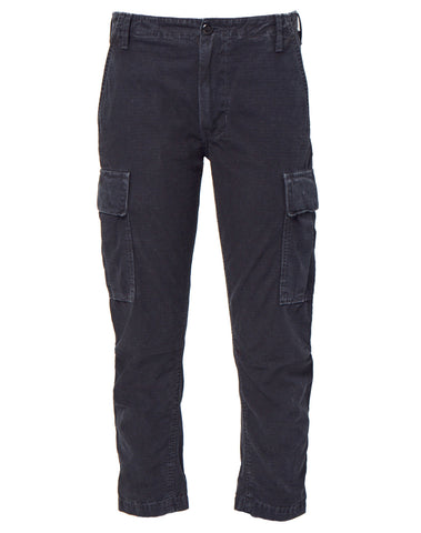 Cargo Pant - Washed Black