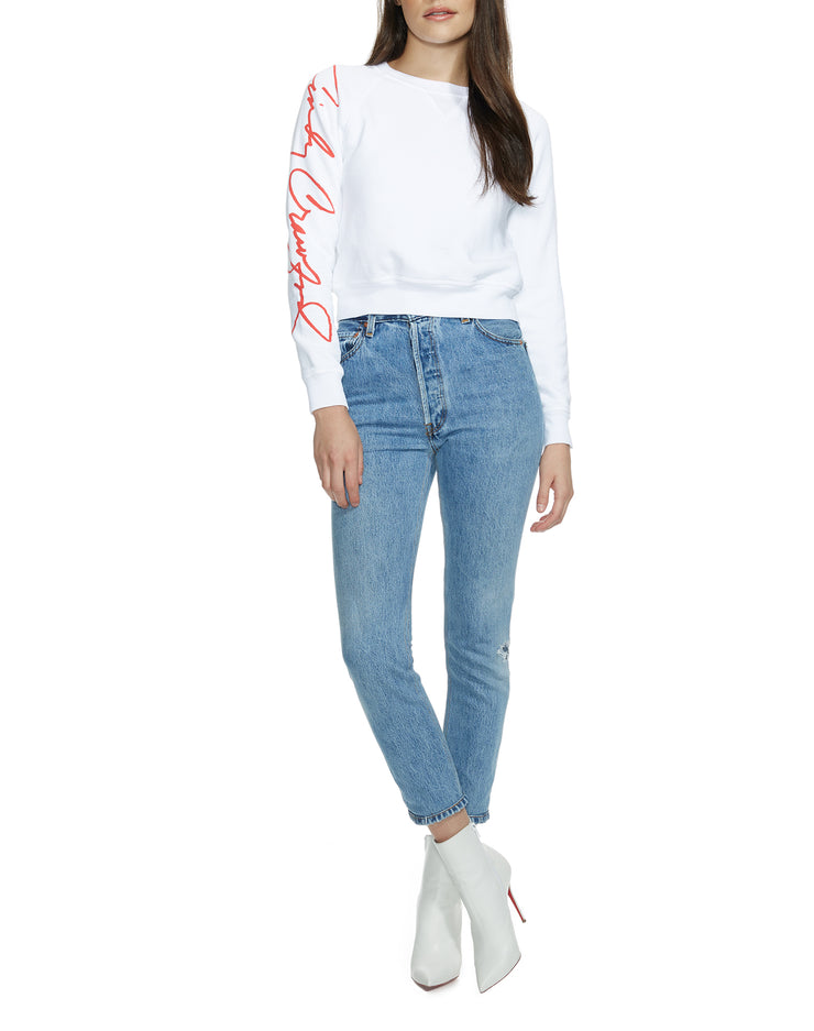 Cindy Sweatshirt - Optic White