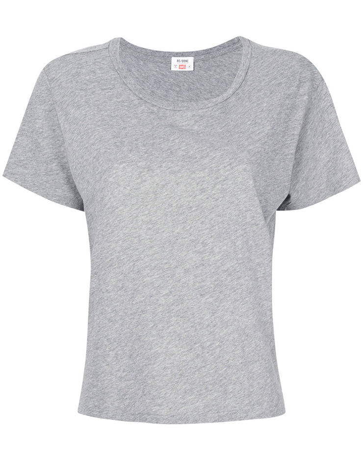 The Classic Tee - Heather Grey