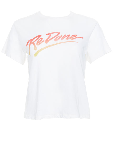 Logo Graphic Tee - Vintage White