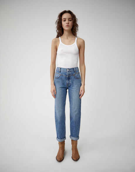 Double Yoke Jean - Medium 42