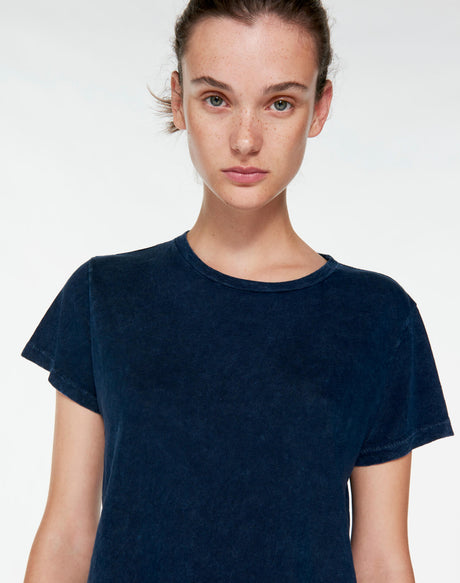 The Classic Tee - Mineral Wash Navy