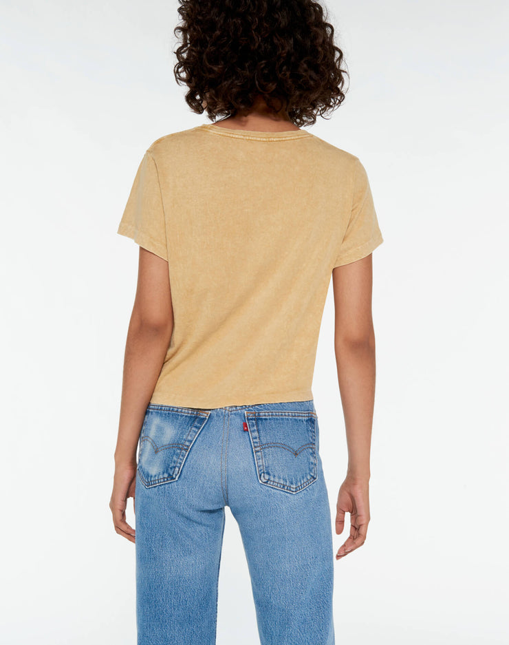 The Classic Tee - Mineral Wash Sand