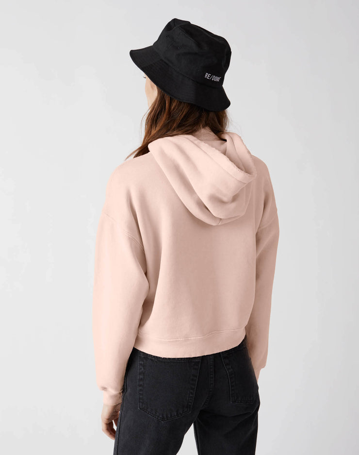 Girl Classic Hoodie | Sunfaded Pink | 012-5WHN1 | 4