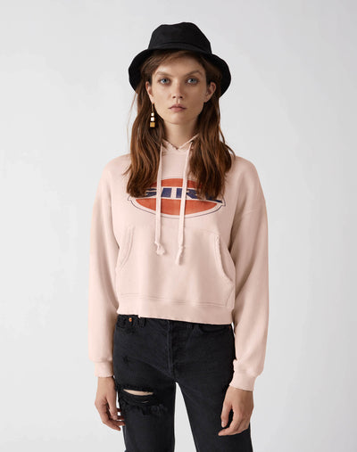 Girl Classic Hoodie | Sunfaded Pink | 012-5WHN1 | 1