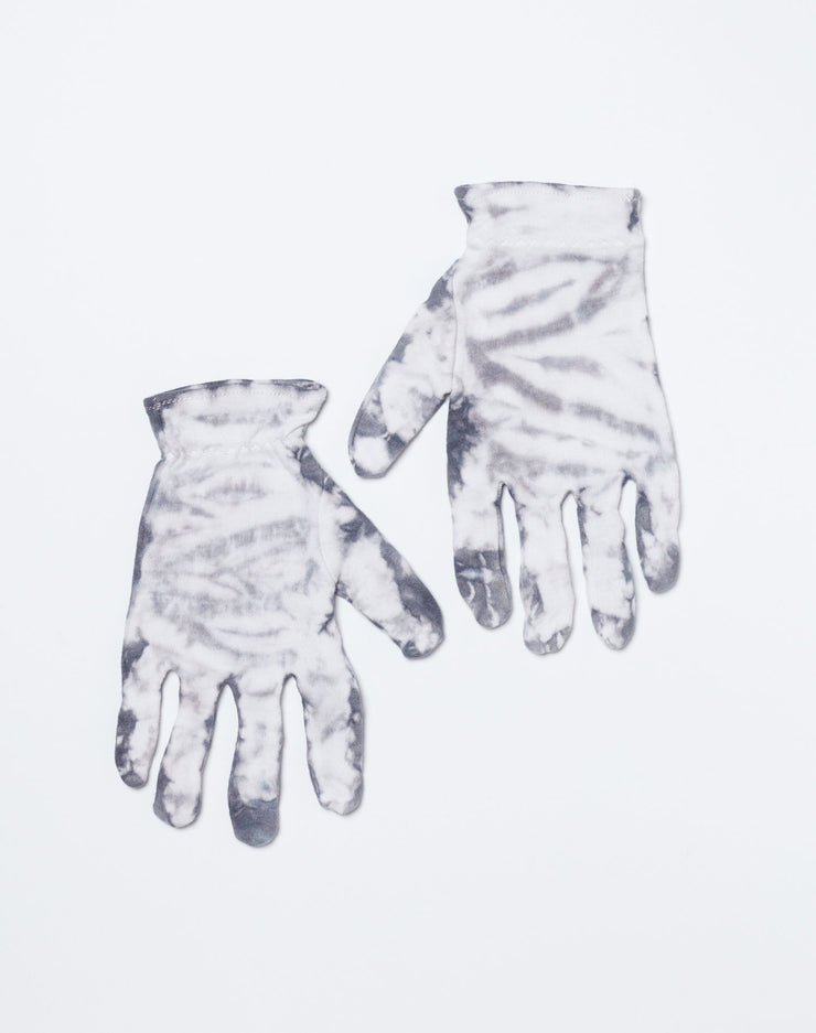 Cotton Gloves - Black Tie Dye