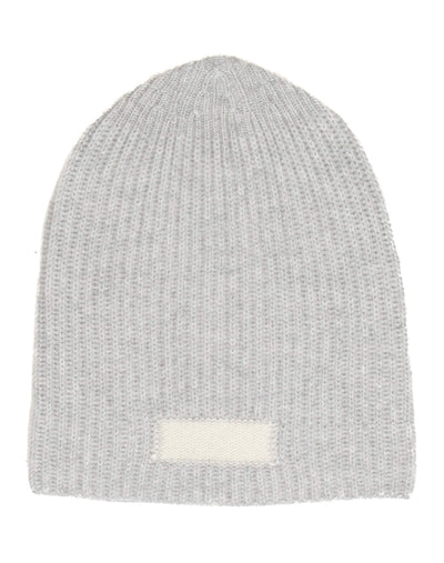 Cashmere Beanie - Heather Grey