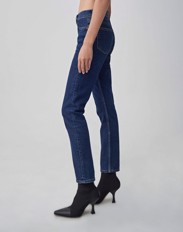 Comfort Stretch High Rise Ankle Crop | Dark 71 | 190-3WHRAC | 3