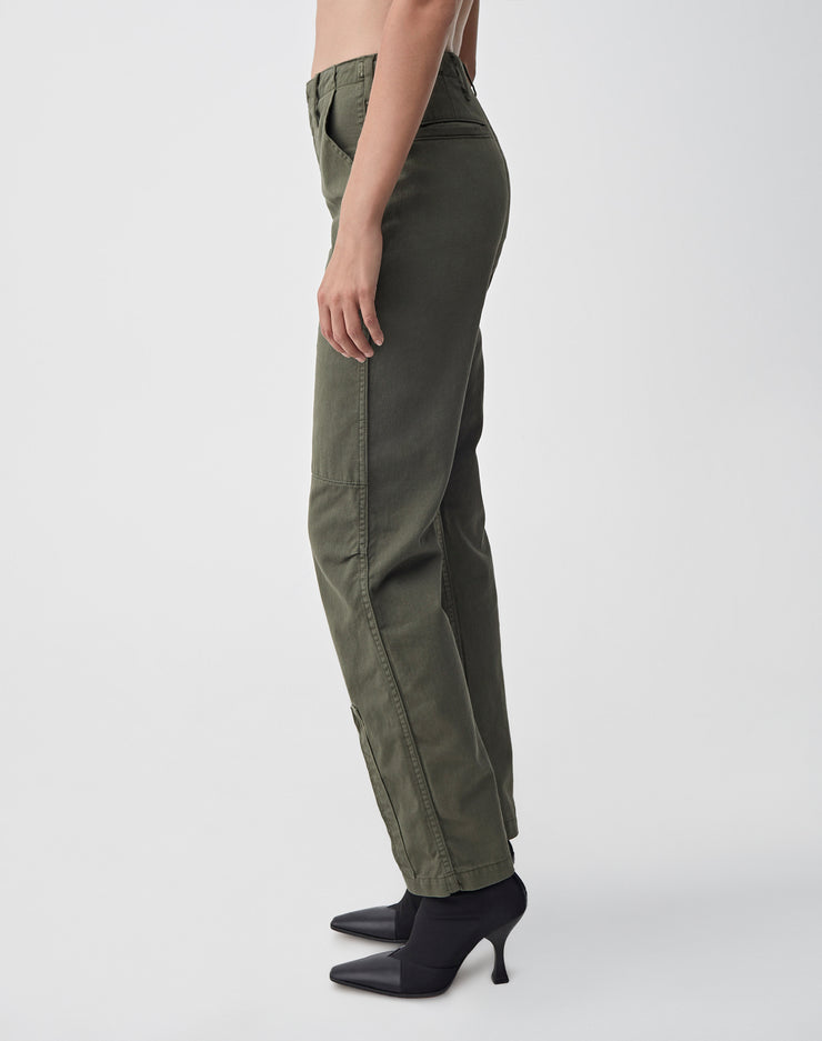 High Waisted Cargo | Army Green | 324-3WHWC | 3