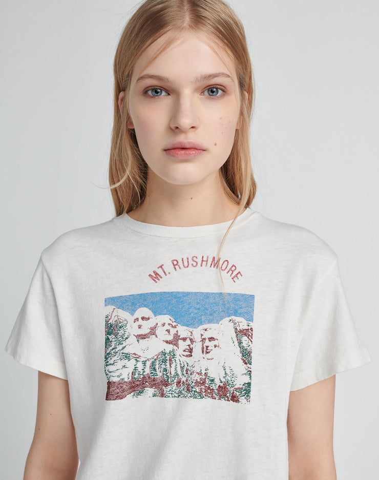 "Classic Tee ""Mt. Rushmore"" - Vintage White"
