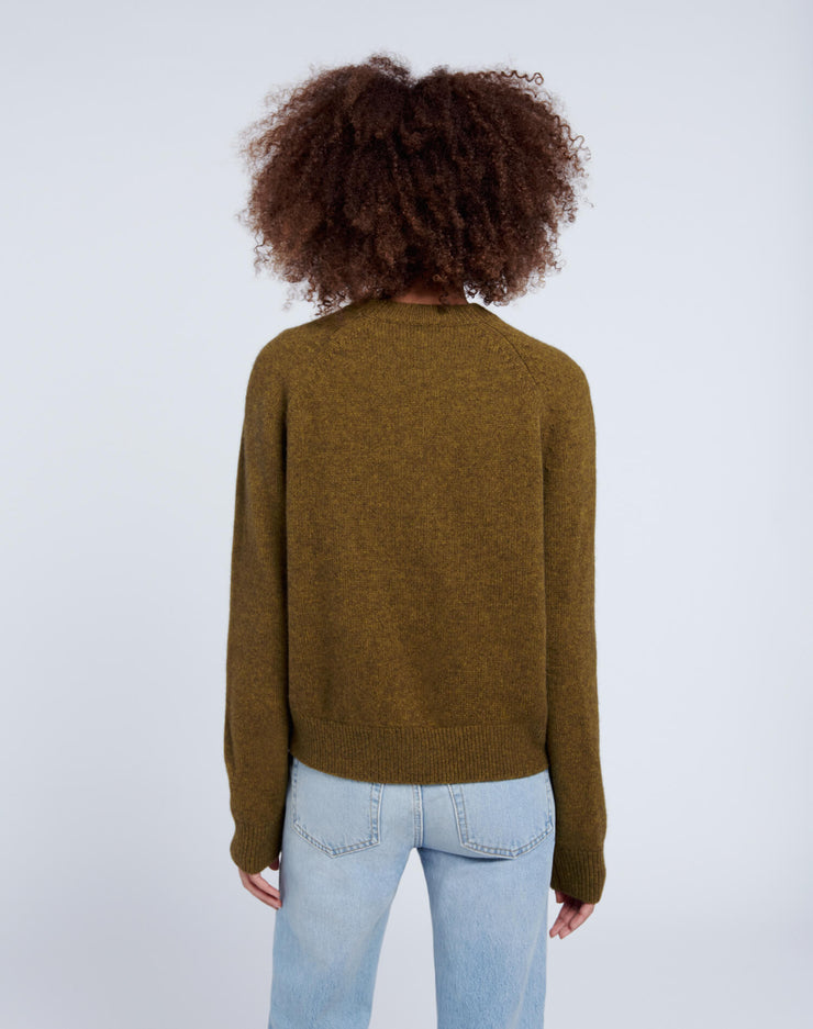50s Crewneck Sweater - Moss