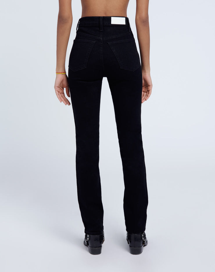 80s Comfort Stretch Slim Straight - Jet Black