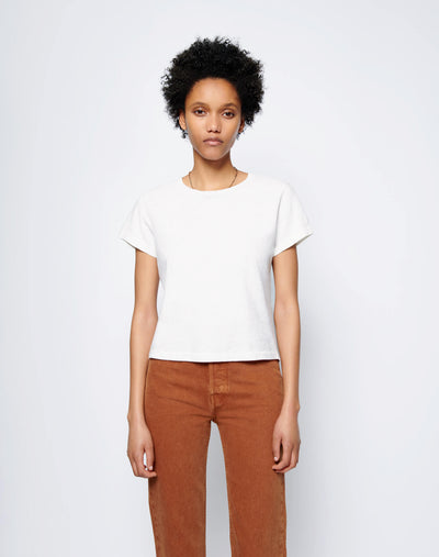 Heritage Cotton Classic Tee - Vintage White