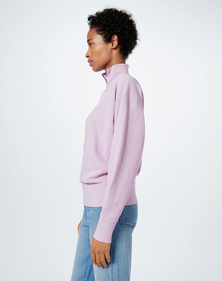 80s Half Zip - Sunfaded Lilac
