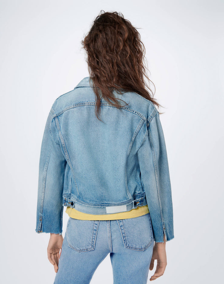 70s Rodeo Denim Jacket - Light Worn 9