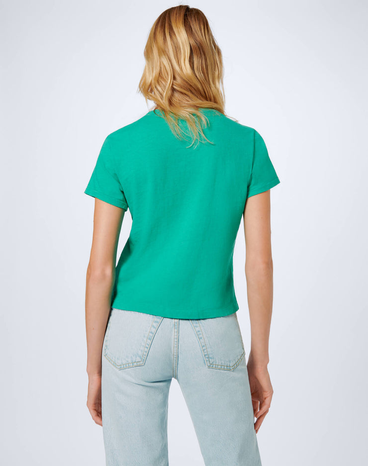 Heritage Cotton Classic Tee - Sea Green