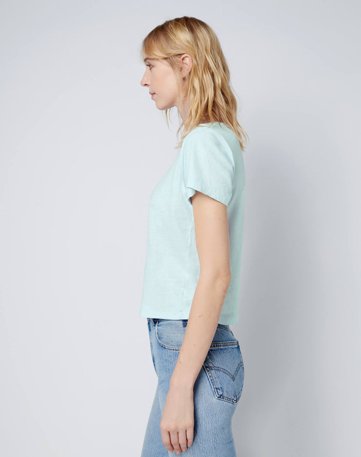 Classic Tee - Pale Blue
