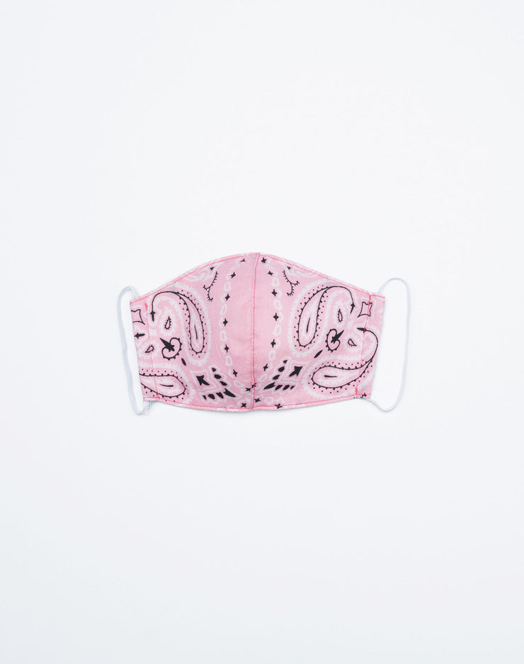 Upcycled Bandana Mask - Pink