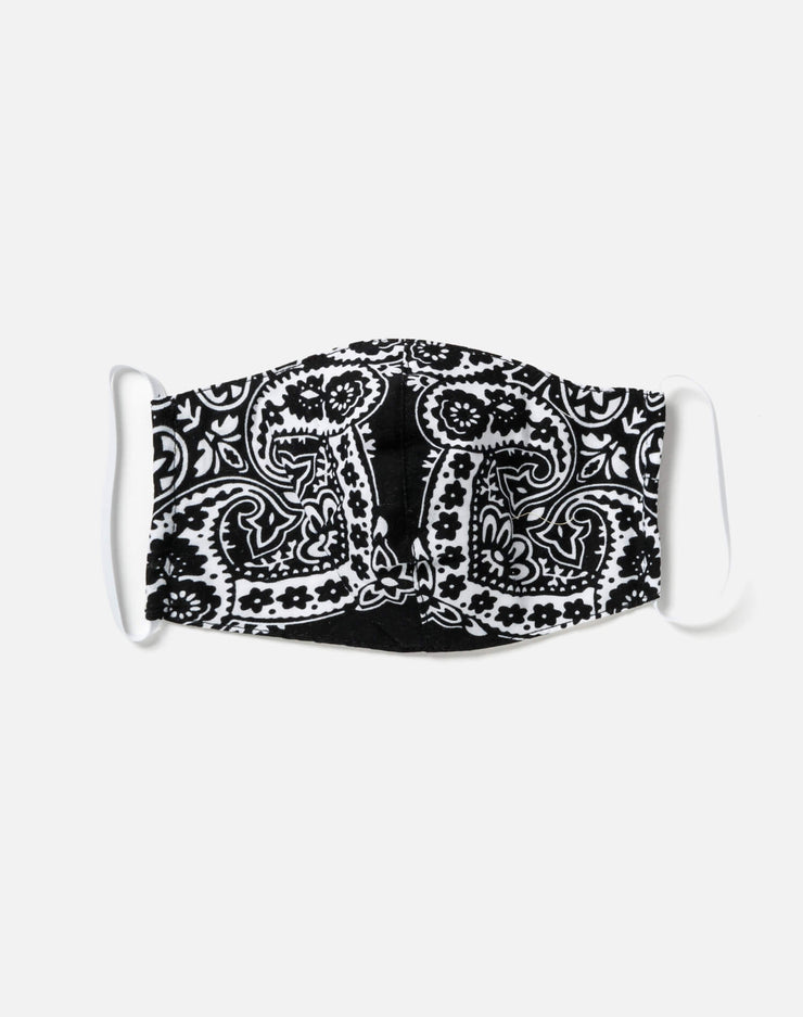 Upcycled Bandana Mask - Black