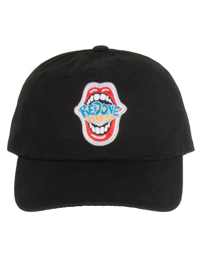 "Dad Cap ""REDONE MOUTH"" Logo - Black"