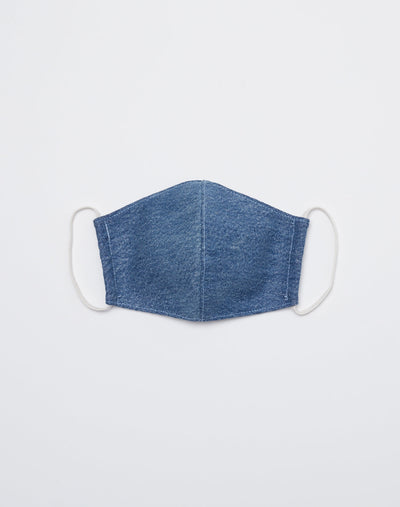 Upcycled Vintage Levi's Denim Mask - Indigo