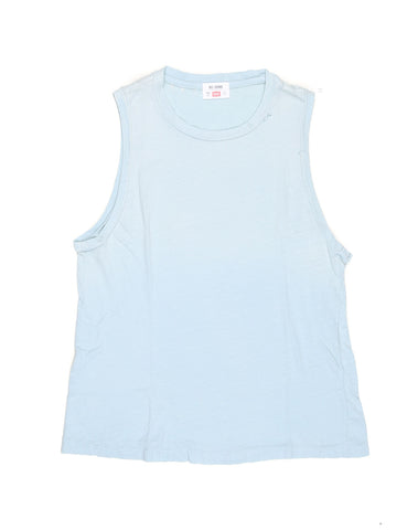 The Muscle Tee - Faded Blue