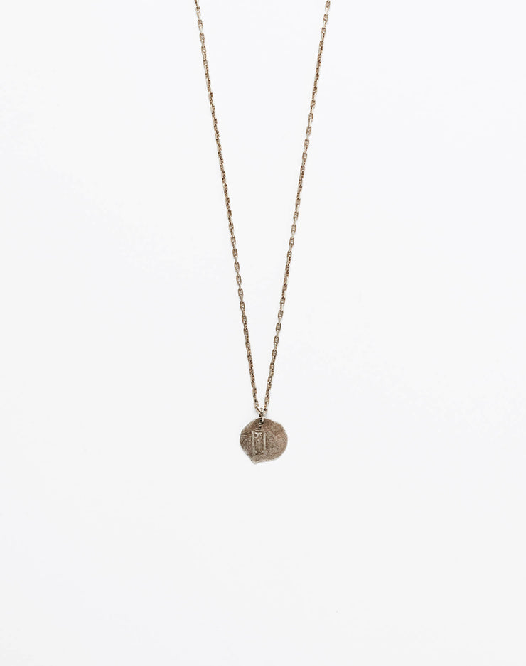 1700s Silver Pirate Coin Necklace #16
