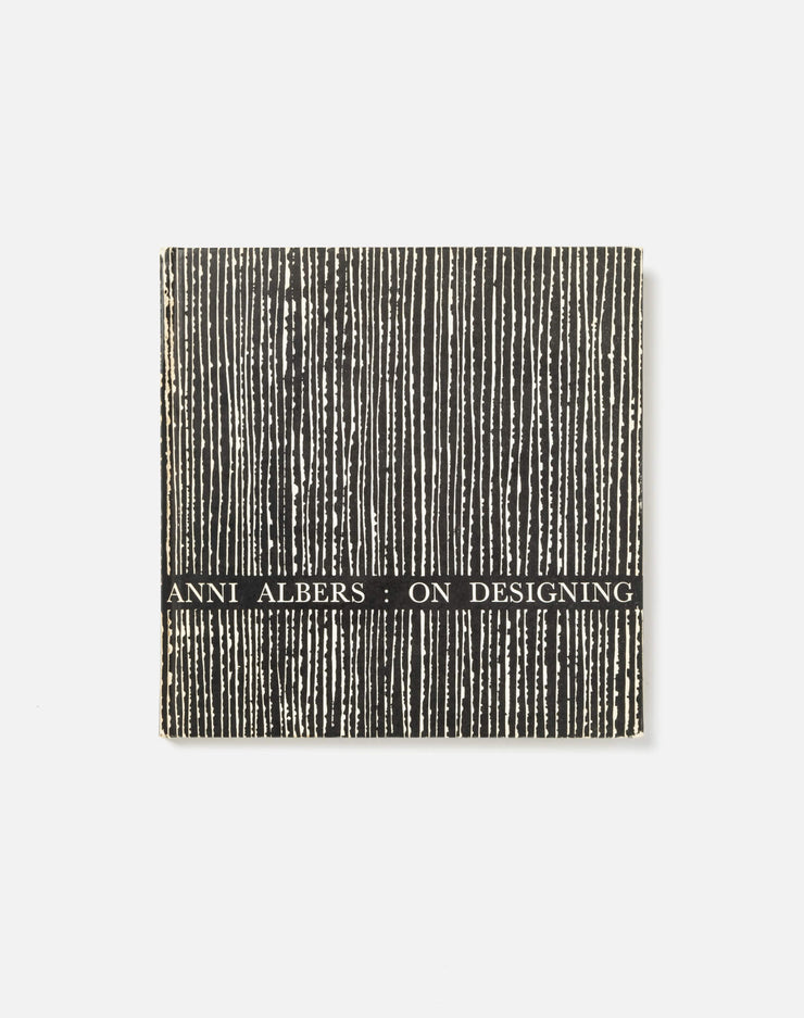 On Designing by Anni Albers