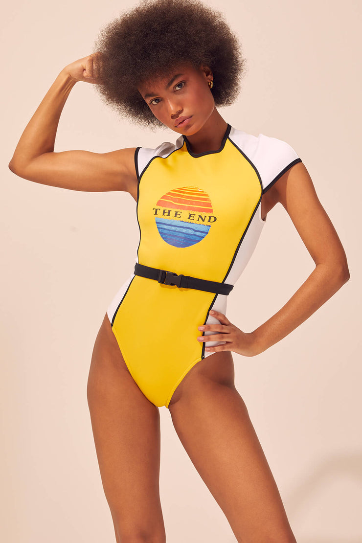 Montauk Scuba Suit Neoprene - Yellow