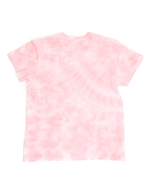 The 1970s Boyfriend Tee - Pink Tie Dye