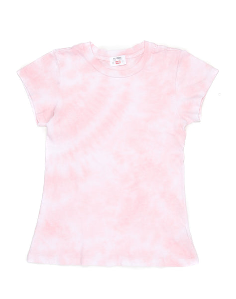 The 1960s Slim Tee - Pink Tie Dye