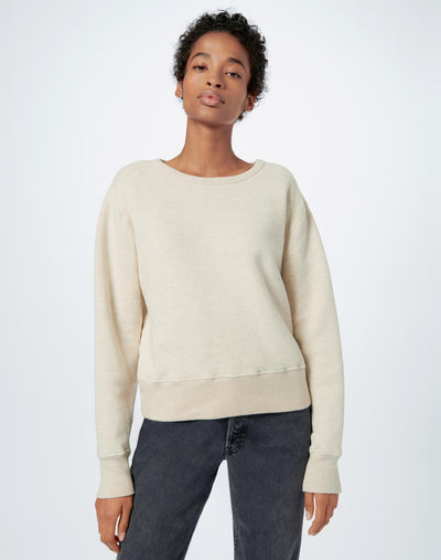Classic Sweatshirt - Heather Oatmeal
