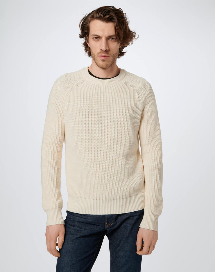 60s Fisherman Crewneck - Ivory