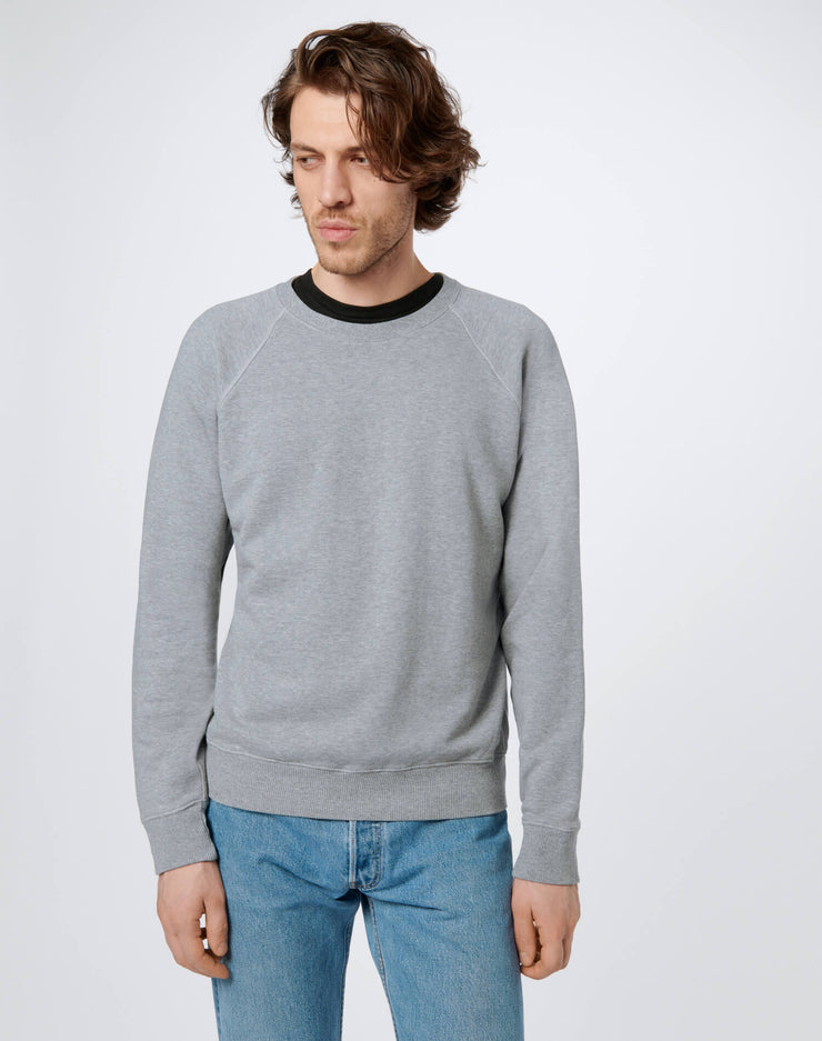 50s Crewneck Sweatshirt - Heather Grey
