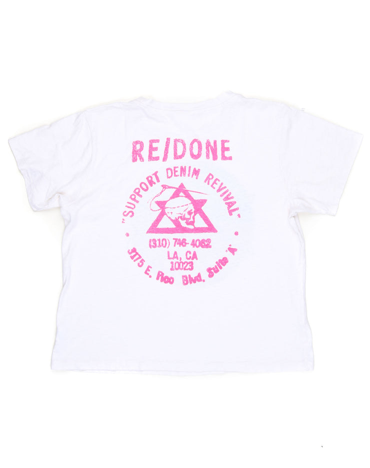 Revival Graphic Tee - Vintage White