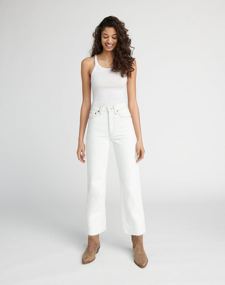 Wide Leg Crop - Bleach Light 01