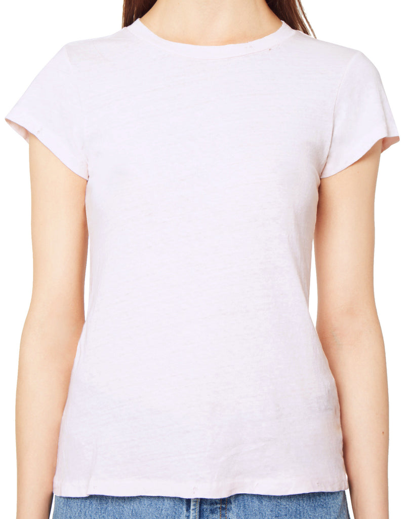 The 1960s Slim Tee - Sun Faded Pink