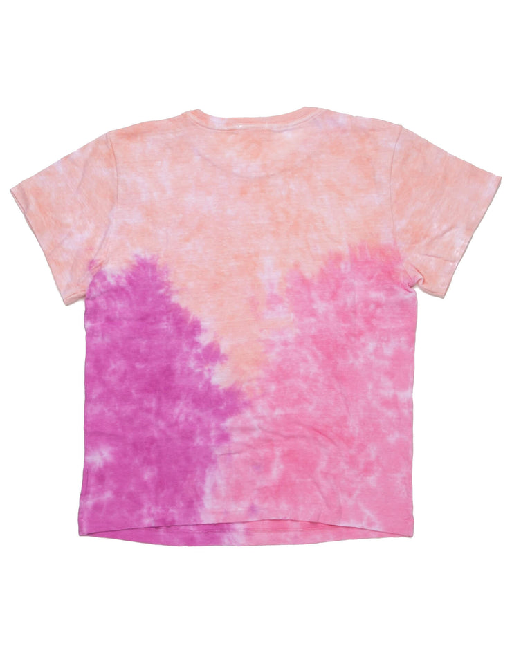 The Classic Tee - Pink Tie Dye