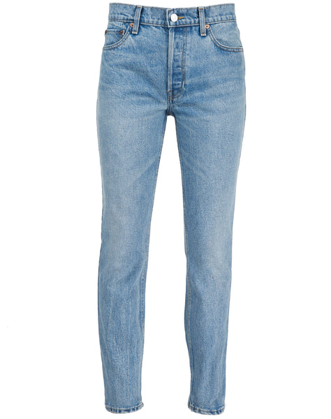 The Crawford Mid-Rise Slim-Leg JeansRe/Done TDTCMle