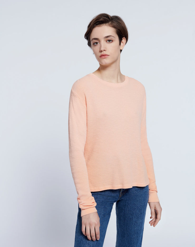 Thermal Long Sleeve Tee - Faded Sorbet