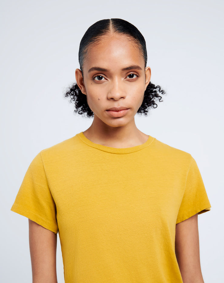 Heritage Cotton Classic Tee - Faded Mustard