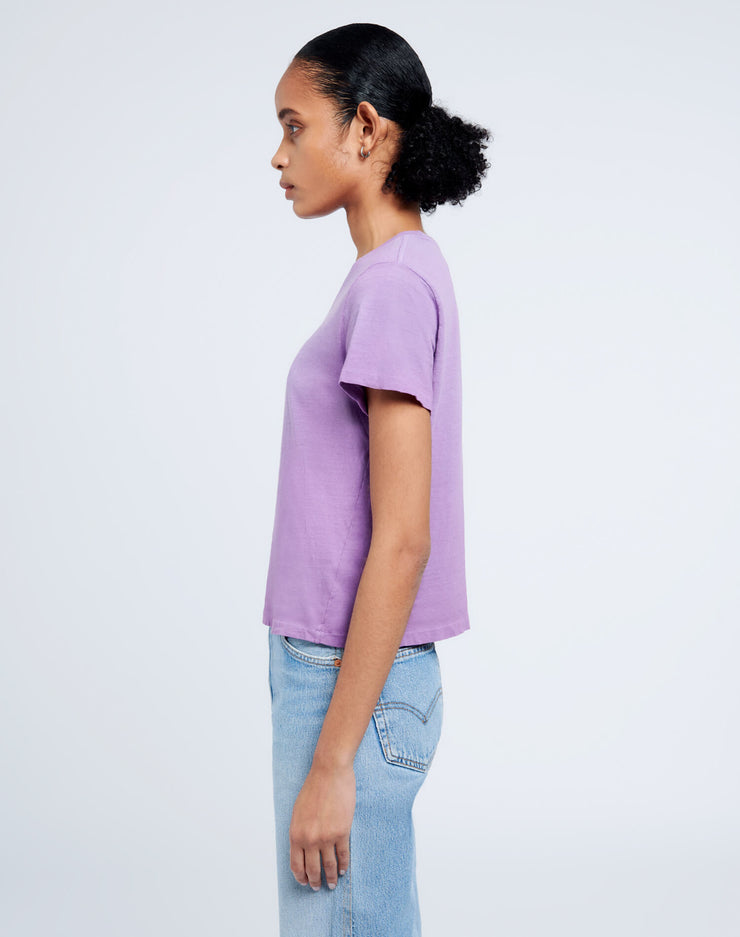 Heritage Cotton Classic Tee - Faded Purple